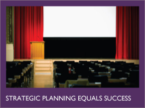 Strategic planning equals success.