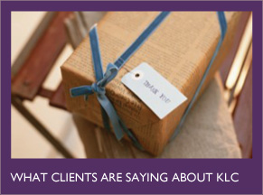 What clients are saying about KLC.